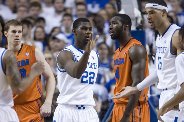 Florida Gators Enter SEC BasketballTourney on a Downer After Loss to Kentucky
