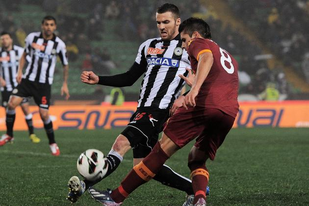 Roma Winning Streak Ends with 1-1 Draw at Udinese