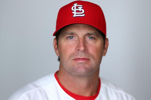 Matheny to Leave the Cardinals for Back Surgery