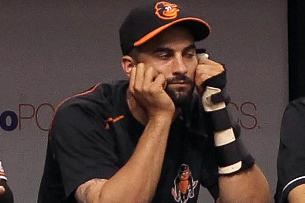 Nick Markakis to Get MRI on Neck