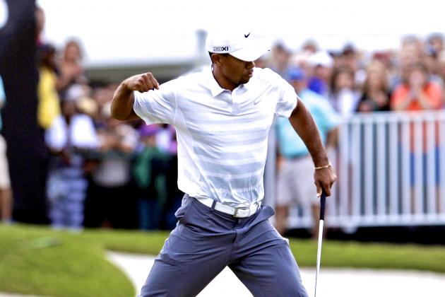 Tiger Woods at WGC Cadillac Championship 2013: Day 3 Analysis, Highlights, More