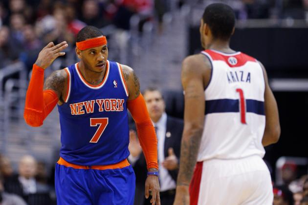 Are 2012-13 New York Knicks Carmelo Anthony's Best Supporting Cast Yet?