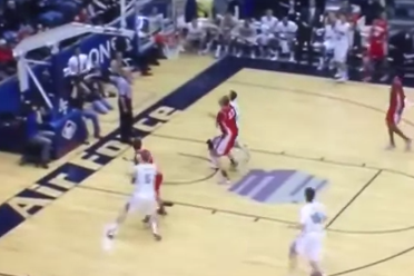 VIDEO: Todd Fletcher, Air Force Down No. 12 New Mexico at Buzzer
