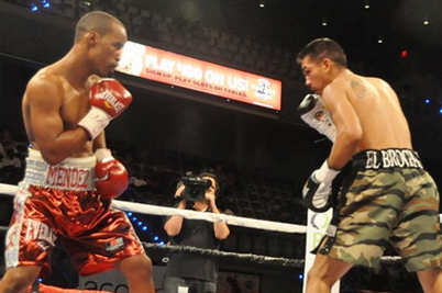 Mendez Destroys Salgado in Rematch