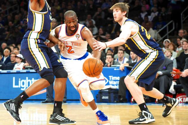 Utah Jazz vs. New York Knicks: Live Score, Results and Game Highlights