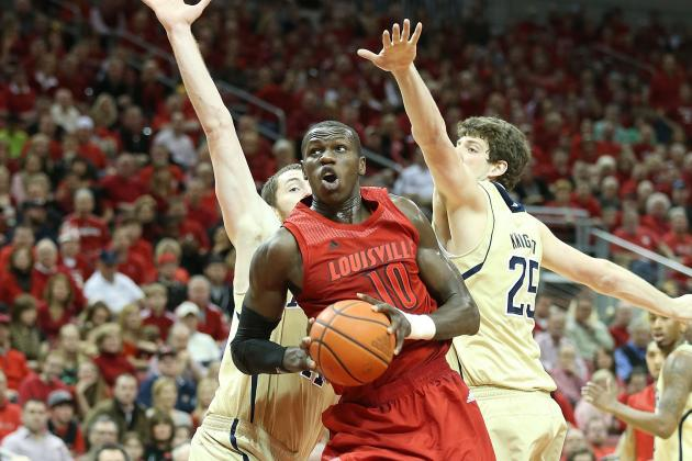 Gorgui Stands Even Taller as Louisville Basketball Team Beats Notre Dame 73-57