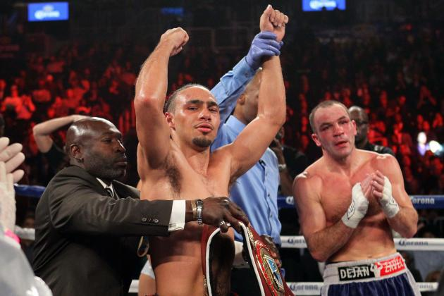 Keith Thurman Cruises vs. Jan Zaveck