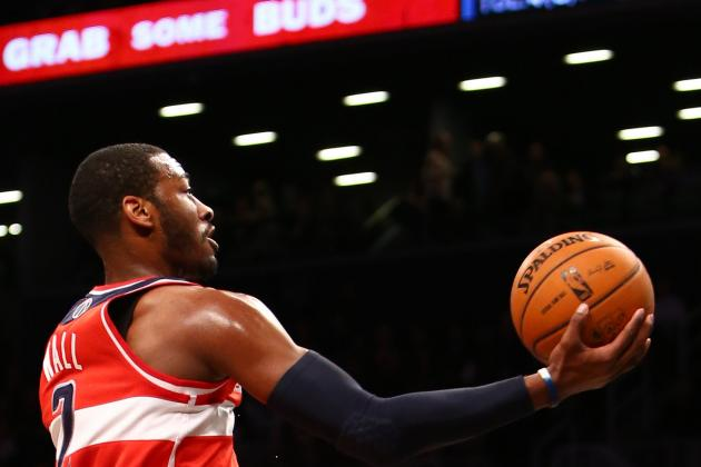 Trevor Ariza, Martell Webster Pace 104-87 Rout