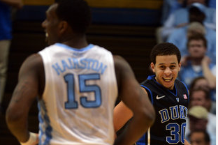 Duke Blue Devils KO UNC Tar Heels Early in 69-53 Win