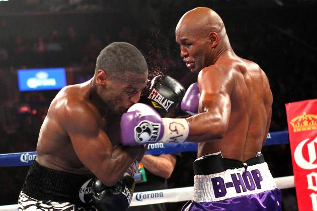 Bernard Hopkins Defeats Tavoris Cloud to Win IBF Light Heavyweight Title
