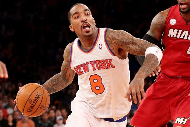 After Losing Amar'e for Season and with Tough Trip Ahead, Knicks Devour Jazz