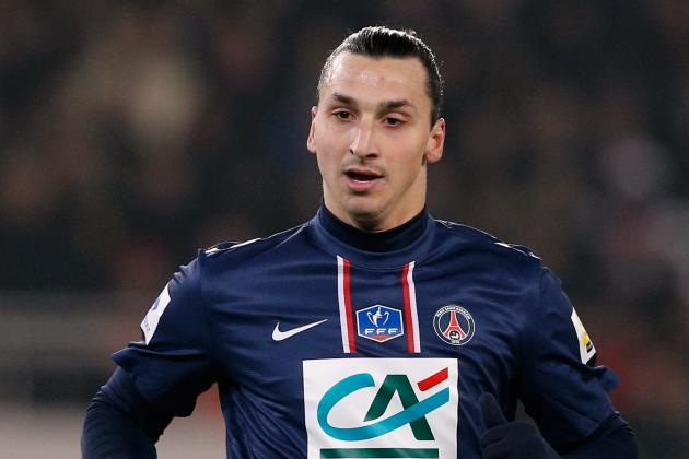 Zlatan Ibrahimovic Scored Twice as Paris Saint-Germain Saw off Nancy 2-1