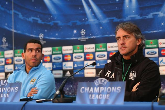 Roberto Mancini Unsure of Carlos Tevez's Long-Term Man City Future