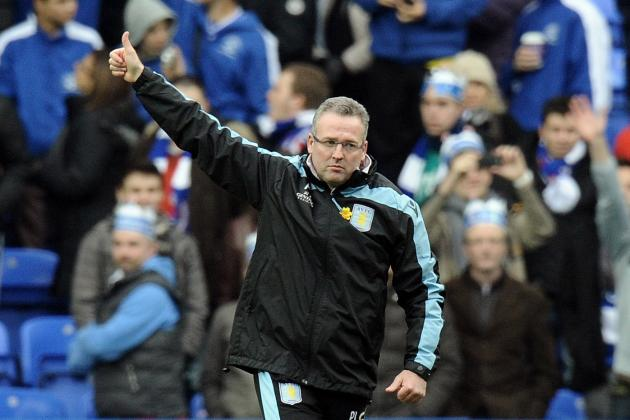 Aston Villa Boss Paul Lambert Praised Side's Fighting Spirit Against Reading