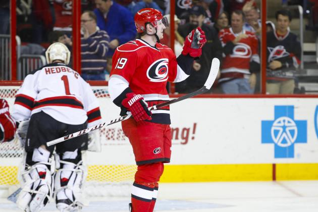 Terry Scores in Debut as Hurricanes Put Away Pesky Devils
