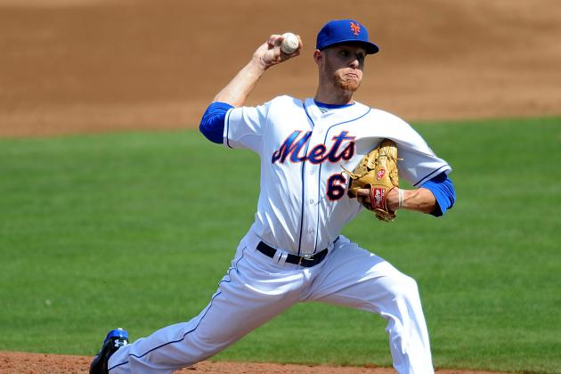 Zack Wheeler Cut by Mets, Sent Back to Minor League Camp