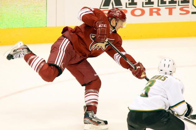 Coyotes 2, Stars 1