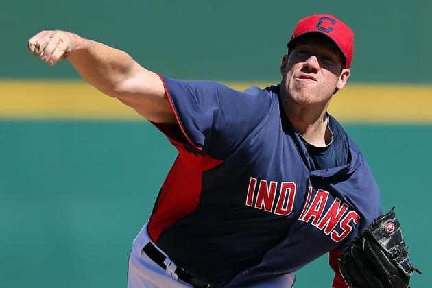 Indians Name Zach McAllister No. 4 Starter, Move David Huff to Bullpen