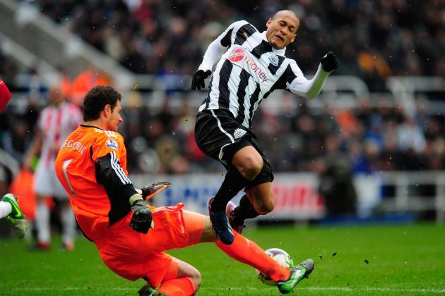 Newcastle 2 Stoke City 1