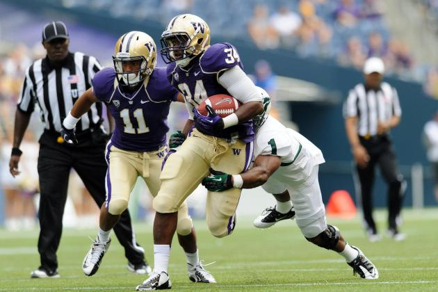 Backup RB Transferring from Washington