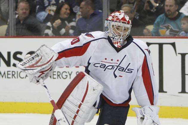 Braden Holtby Pulled vs. Rangers for Michal Neuvirth