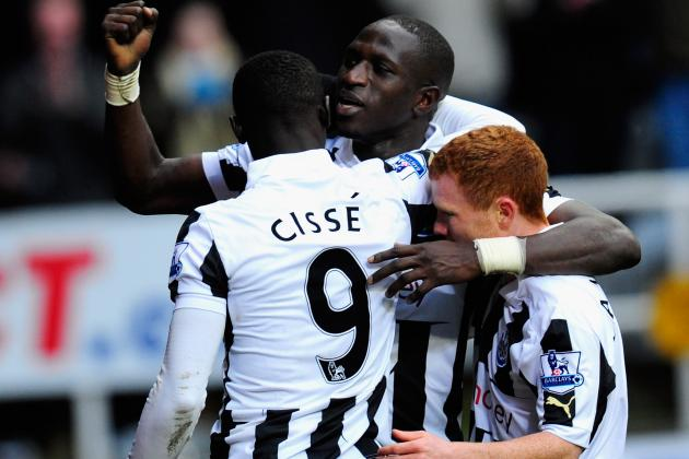 Newcastle's Papiss Cissé Strikes in Added Time to Earn Win over Stoke
