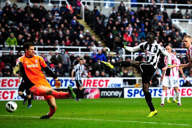 Papiss Cisse Strikes Late to Sink Stoke