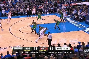 Durant Puts Sick Crossover on KG