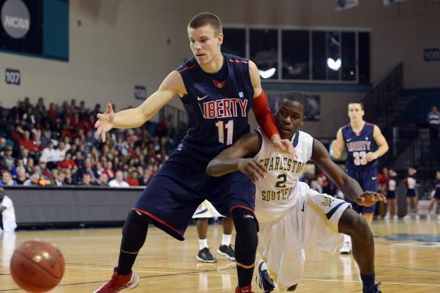 Liberty Punches NCAA Ticket with 87-76 Upset of Charleston Southern