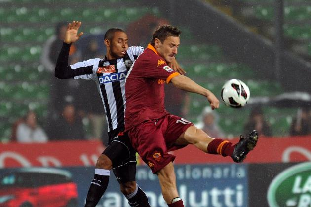 Roma, Totti Play False-Nine—Who Else Could Pull It Off?