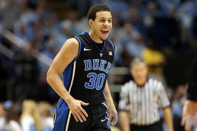 Duke Basketball: Blue Devils Are Clear No. 1 Seed After Win over North Carolina