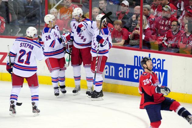 Rangers 4, Capitals 1