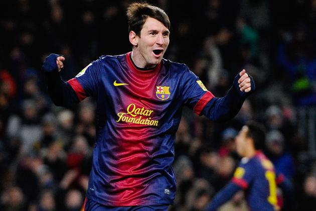 Lionel Messi's 17 Straight League Goals Is 2013's Most Impressive Streak