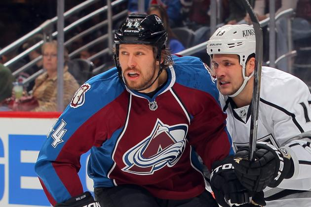 Ryan Wilson Expected to Return to Avalanche Lineup Against Sharks