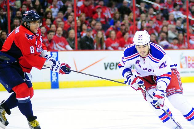 Ovechkin Penalties Spur Rangers' 4-1 Win vs. Capitals