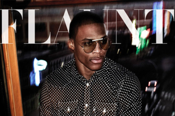 Russell Westbrook Graces the Cover of Flaunt Magazine