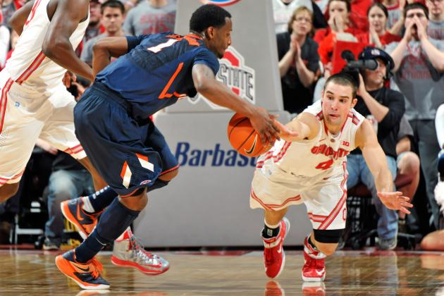 Illini Fall to Ohio St., No. 8 Seed for Big Ten Tournament