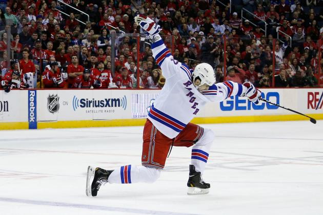 Boyle Ends Scoring Drought as Rangers Solve Ovechkin and Capitals