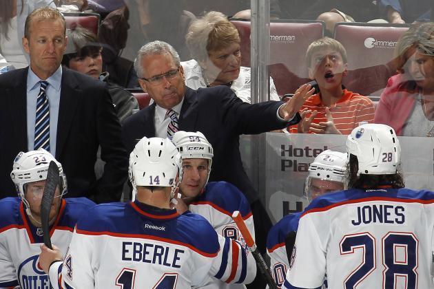 Edmonton Oilers Hold Players Meeting Before Taking on Blackhawks