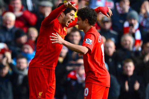 Liverpool Edge Tottenham in Thriller as Luis Suarez, Gareth Bale Prove Worth
