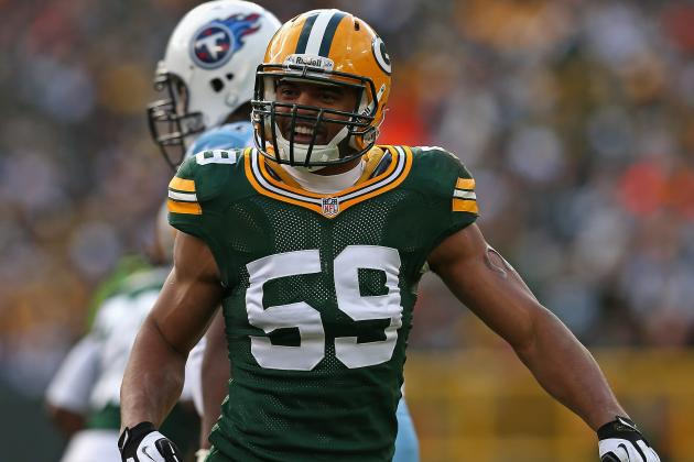 Packers Have Considerable Competition for LB Brad Jones