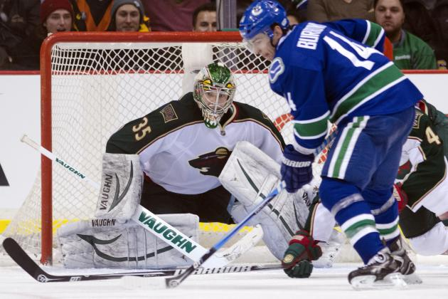 Vancouver Canucks vs. Minnesota Wild: GameCast