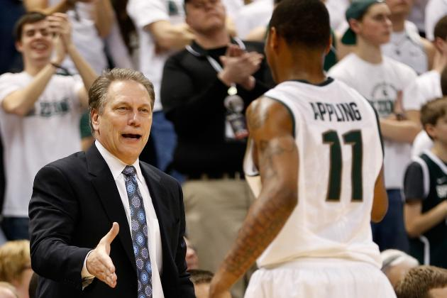 No. 10 Michigan St. 71, Northwestern 61