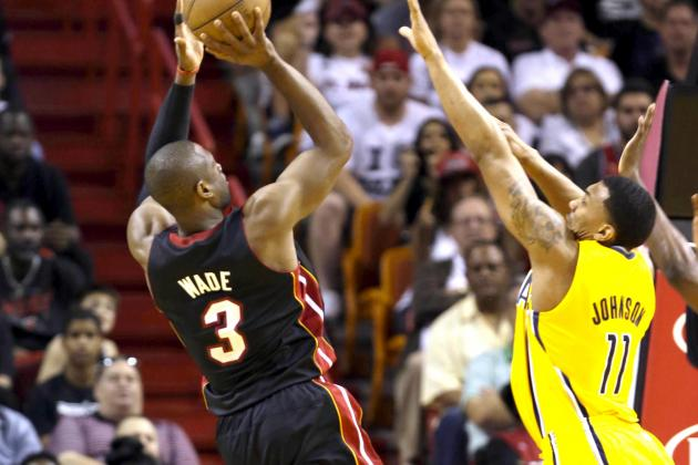 Indiana Pacers vs. Miami Heat: Live Score, Results and Game Highlights