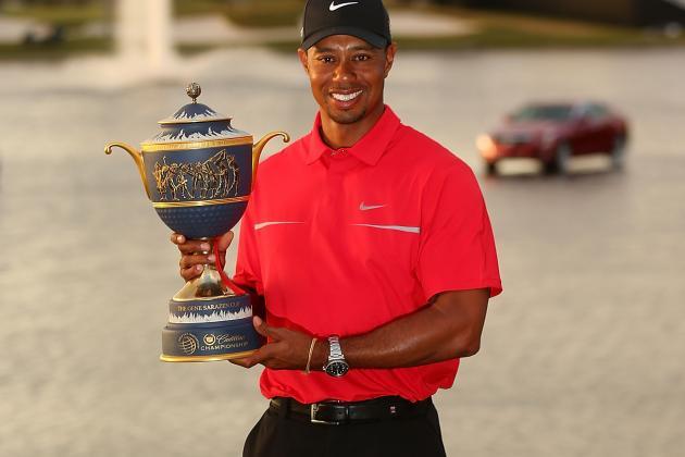 Tiger's Sensational Putting Stroke Prepares Him for Major Triumph