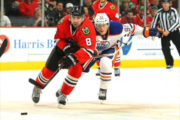 Oilers Start Fast to Deal Hawks 2nd Straight Loss