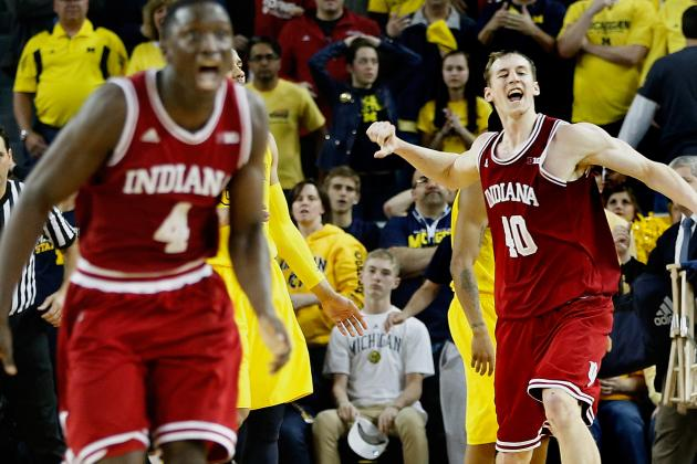 No. 2 Indiana Rallies by No. 8 Michigan to Win Big Ten