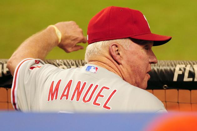 Charlie Manuel Run over by Tricycle