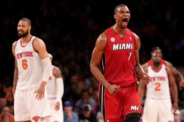 Has Playing with LeBron James and Dwyane Wade Hurt Chris Bosh?