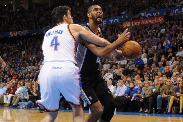 Oklahoma City Thunder vs. San Antonio Spurs: Preview, Analysis and Predictions